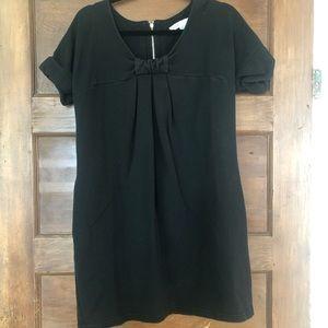 See by Chloe black s/s sweatshirt dress 42/6